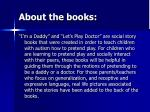 about the books