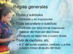 reglas generales1