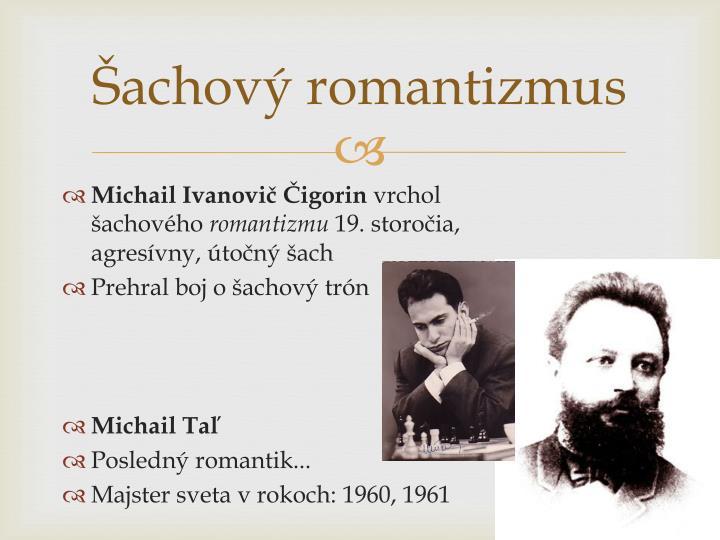 Šachový romantizmus