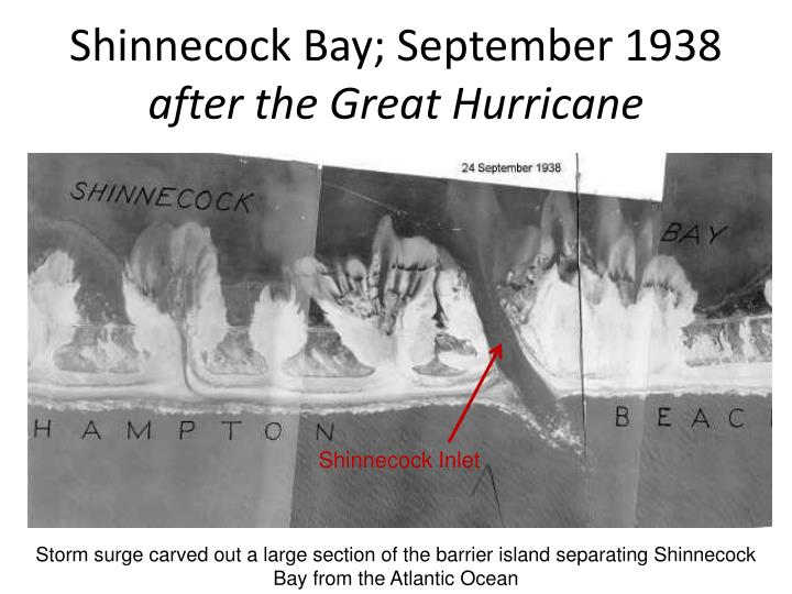 Shinnecock Bay; September 1938