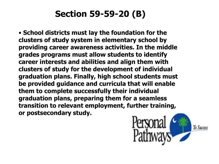 Section 59-59-20 (B)