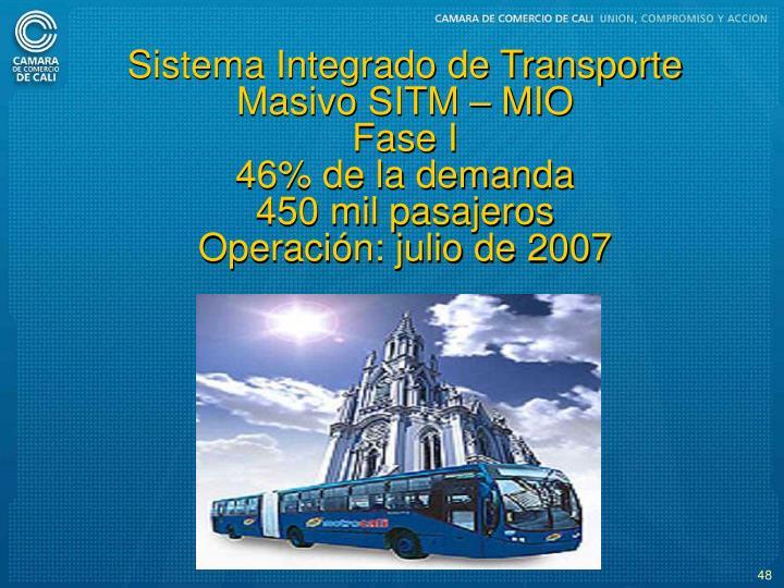 Sistema Integrado de Transporte Masivo SITM  MIO