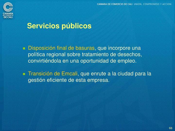 Servicios pblicos