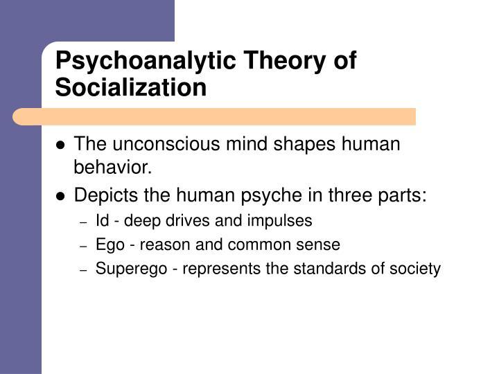 Psychoanalytic Theory of Socialization