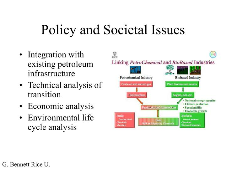 Policy and societal issues