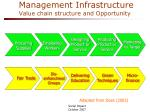 management infrastructure value chain structure and opportunity