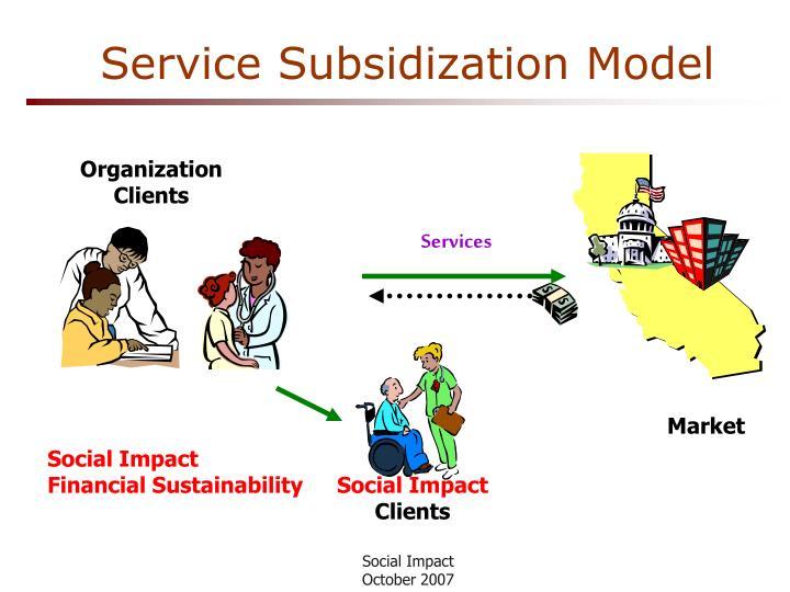 Service Subsidization Model