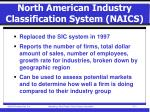 north american industry classification system naics