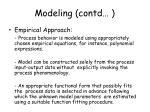 modeling contd2