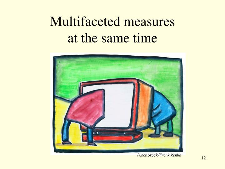 Multifaceted measures