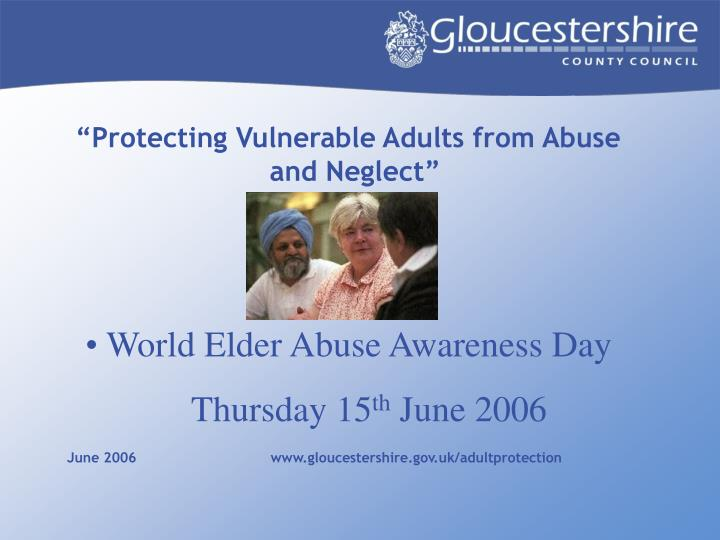 Vulnerable adults policy uk