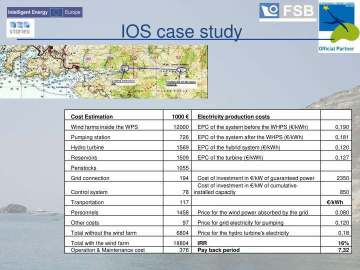 IOS case study