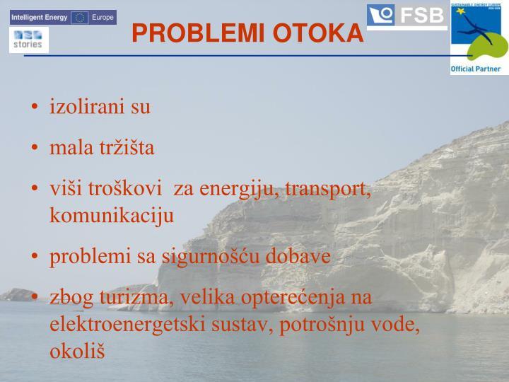 PROBLEMI OTOKA