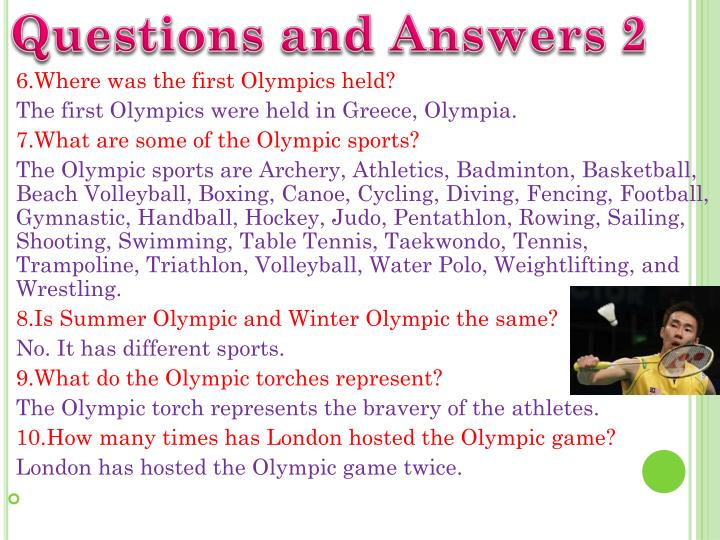 Questions and Answers 2
