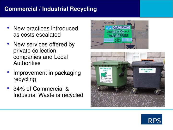 Commercial / Industrial Recycling