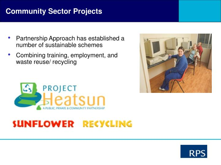 Community Sector Projects