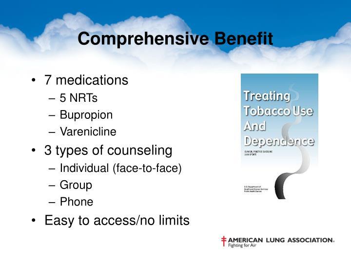 Comprehensive Benefit