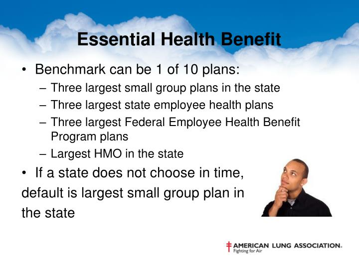 Essential Health Benefit