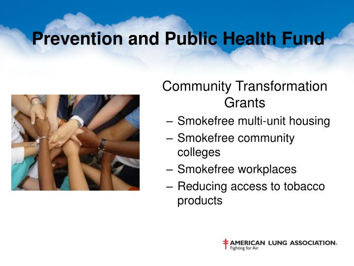 Prevention and Public Health Fund