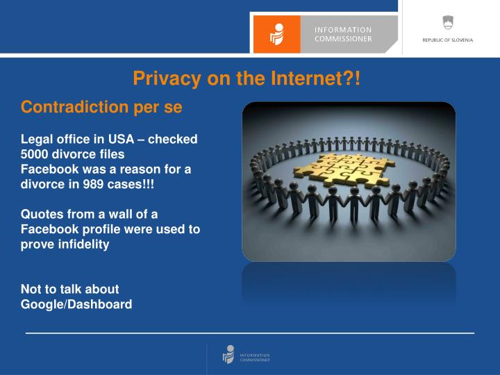 Privacy on the Internet?!
