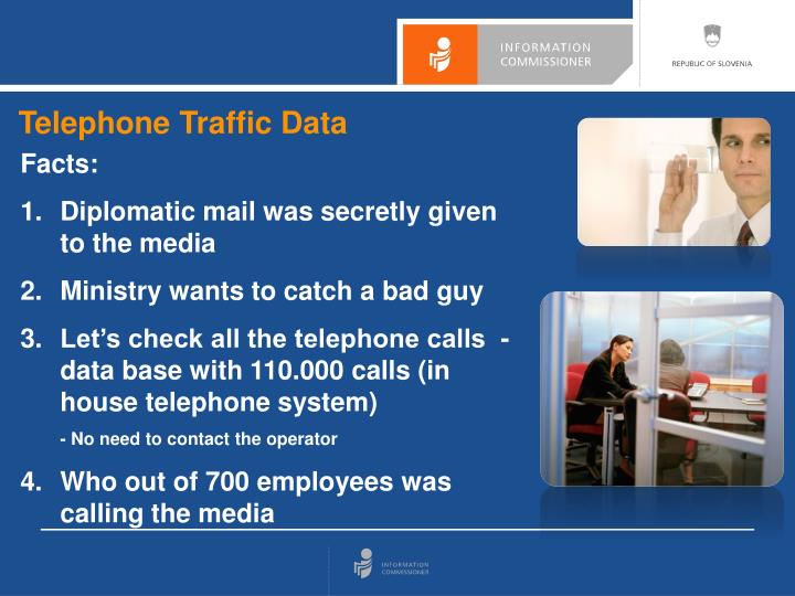 Telephone Traffic Data