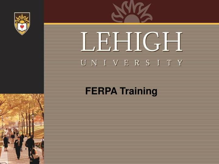 FERPA Training