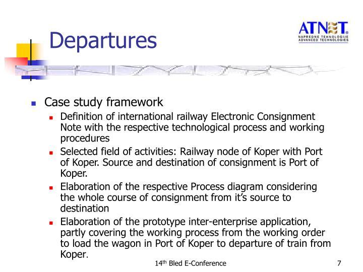 Case study framework