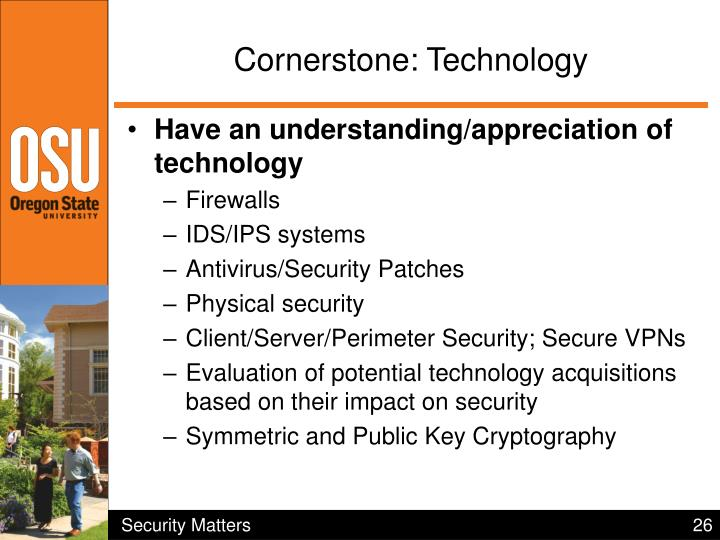 Cornerstone: Technology