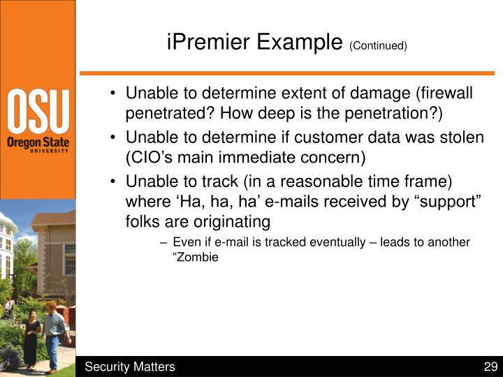 iPremier Example