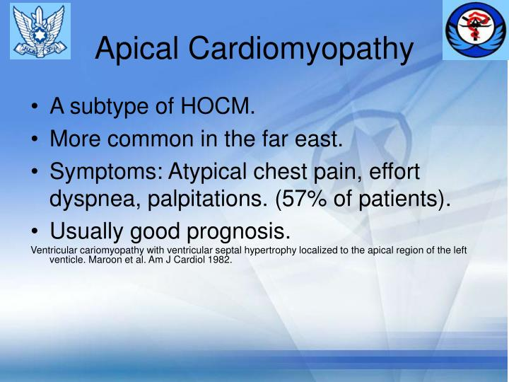 Apical Cardiomyopathy