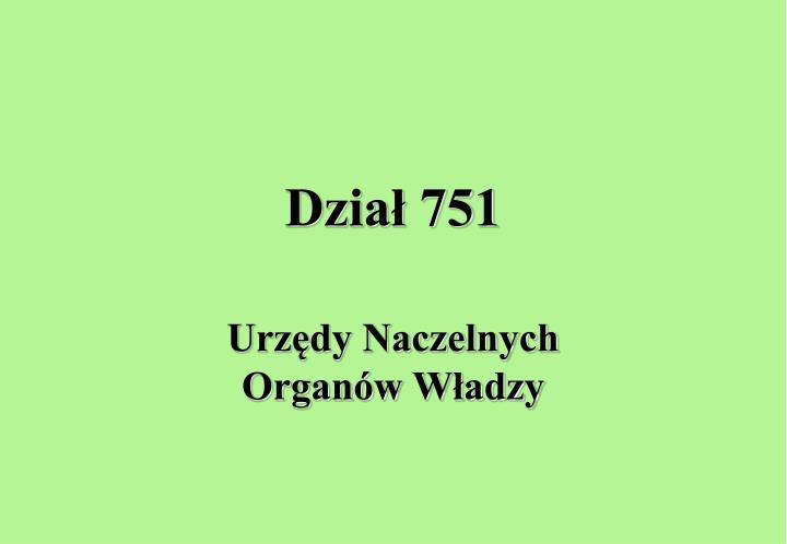 Dział 751