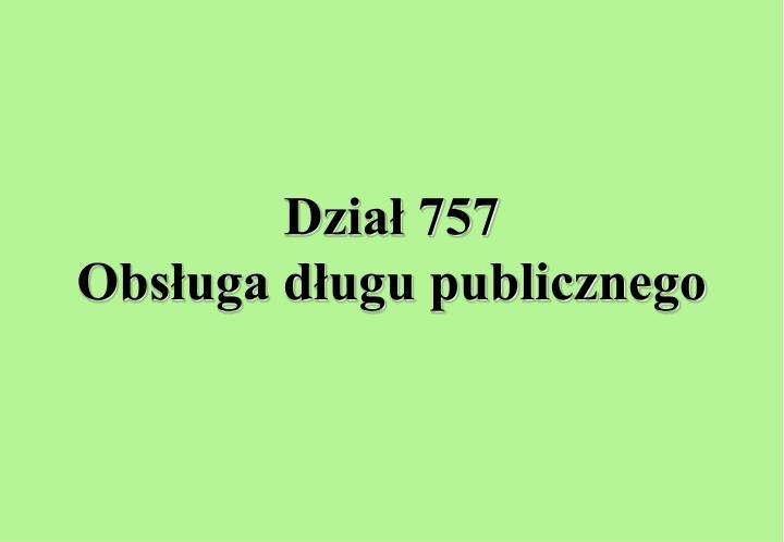 Dział 757