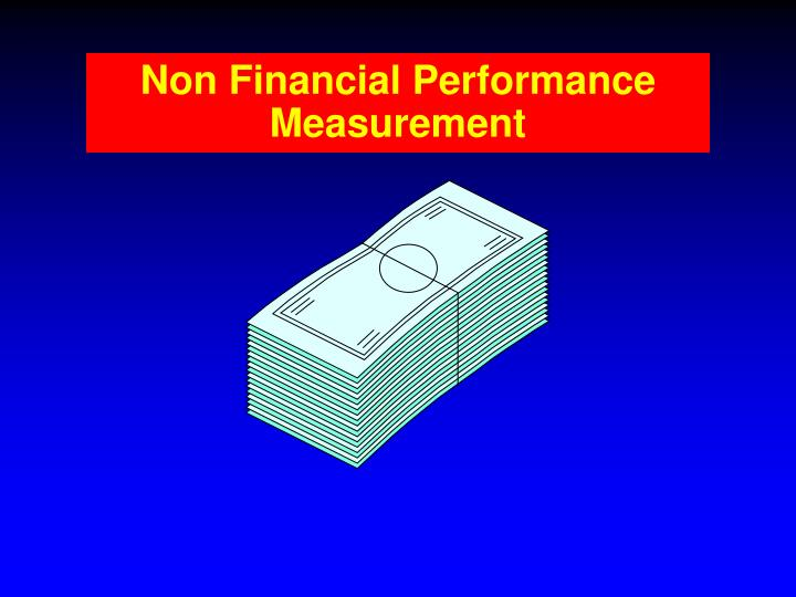 Non Financial Performance Measurement