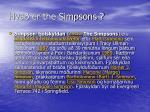 hva er the simpsons