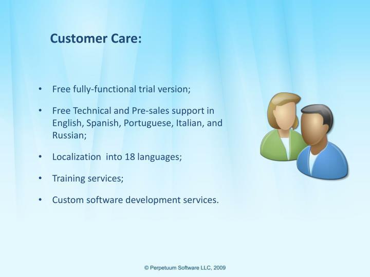 Customer Care: