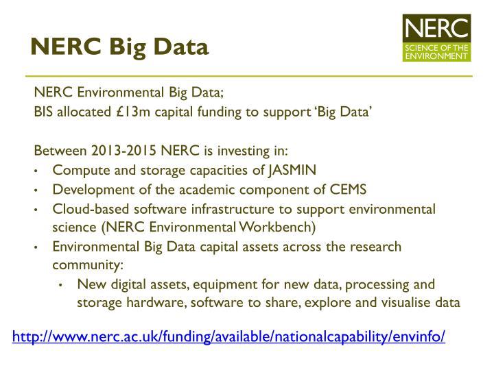 NERC Big Data