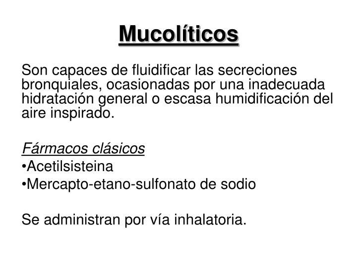 Mucolíticos