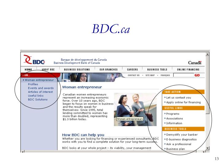 BDC.ca