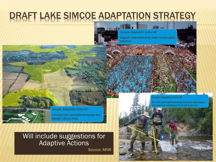 Draft Lake Simcoe Adaptation Strategy