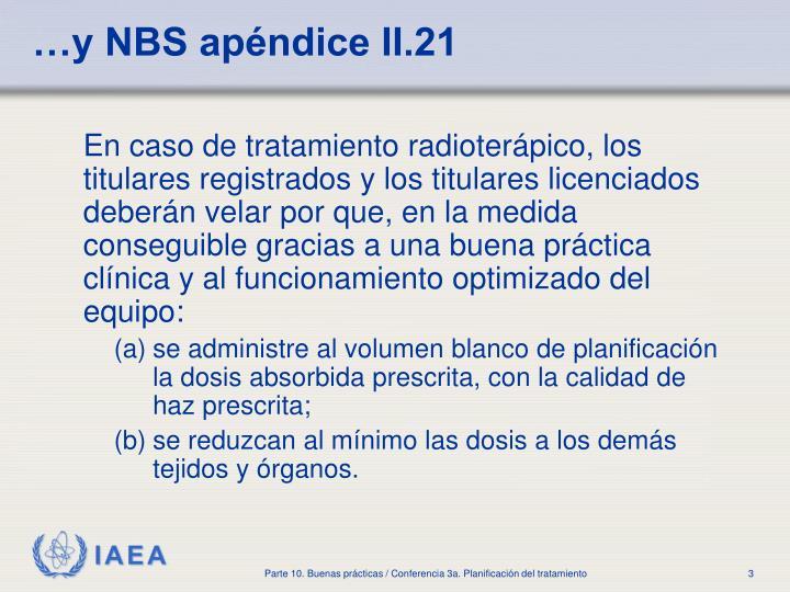 …y NBS apéndice II.21