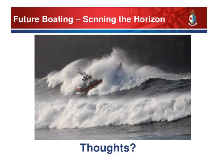 Future Boating – Scnning the Horizon