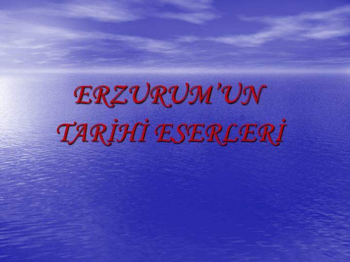 ERZURUMUN