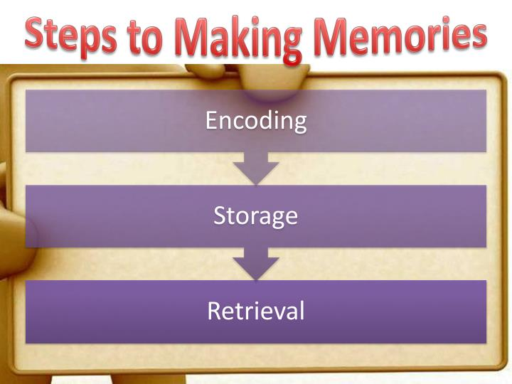 Steps to Making Memories