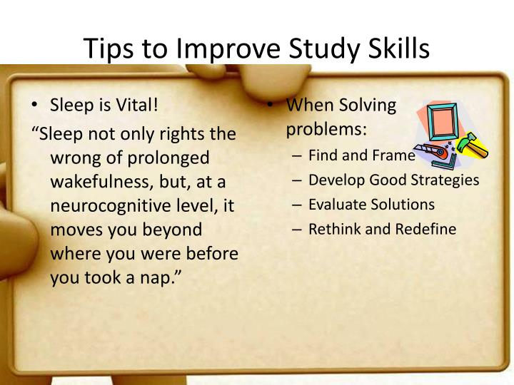 Tips to Improve Study Skills