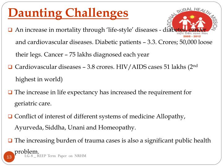 Daunting Challenges