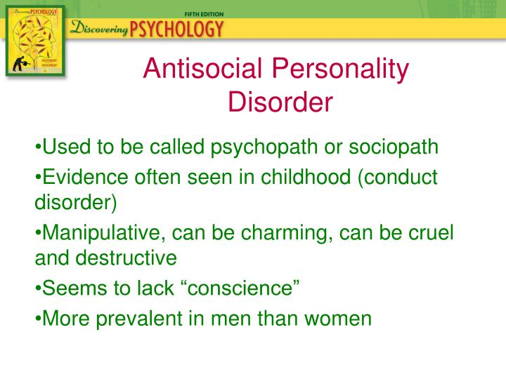 Used to be called psychopath or sociopath