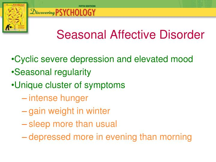Cyclic severe depression and elevated mood