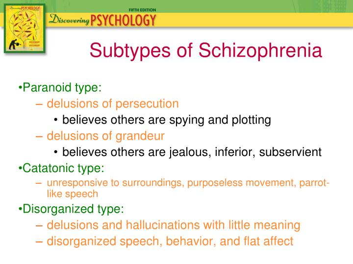 Paranoid type: