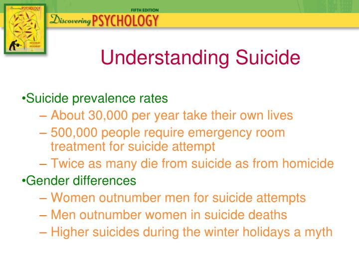 Suicide prevalence rates