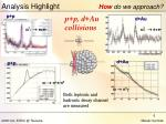 analysis highlight how do we approach